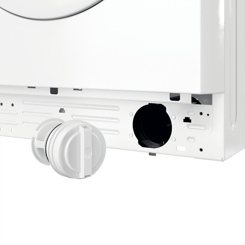 Indsit Maşină de spălat rufe Independent MTWSA 61252 W EE Alb Încărcare frontală F Filter