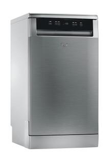Whirlpool dishwasher: inox color, slimline - ADP 321 IX