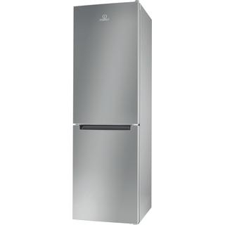 Indesit Холодильник с морозильной камерой Отдельно стоящий LI8 FF2 S Серебристый 2 doors Perspective