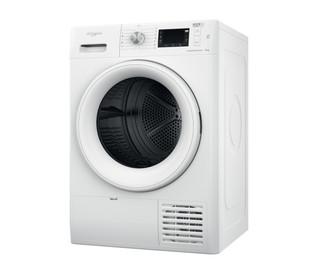 Whirlpool tørretumbler med varmepumpe: fritstående, 9 kg - FFT M22 9X2 EU