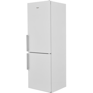Whirlpool Fridge-Freezer Combination Free-standing W5 811E W UK Optic Inox 2 doors Perspective