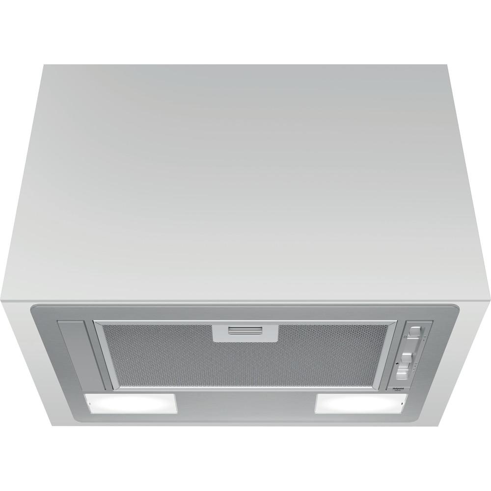 Hotpoint_Ariston Аспиратор За вграждане HCT 64 F L SS Инокс За вграждане Механично Frontal