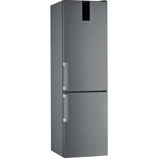 Whirlpool Kombinētais ledusskapis/saldētava Brīvi stāvošs W7 921O OX H Optic Inox 2 doors Perspective