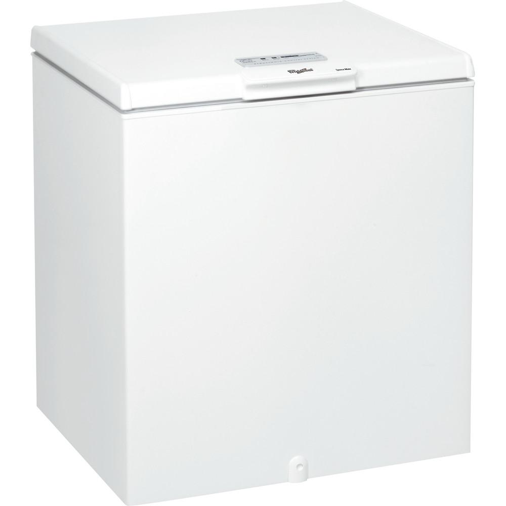 Congelador horizontal Whirlpool: color blanco - WH2010 A+E