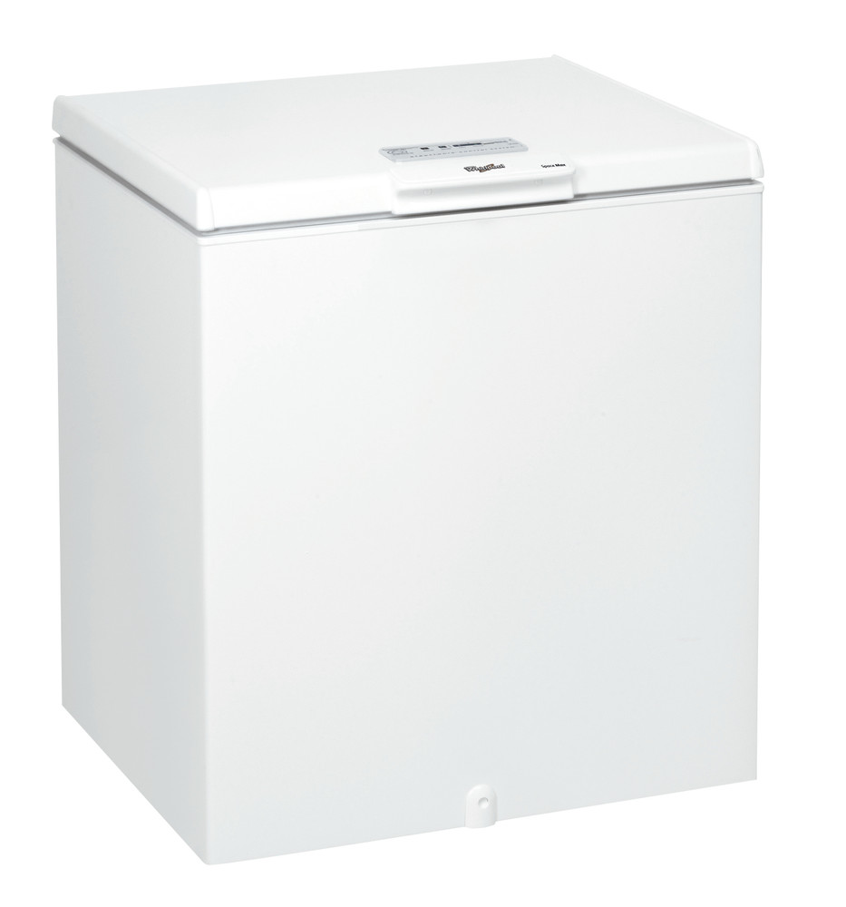 Whirlpool Фризер Свободностоящи WH2010 A+E Бял Perspective