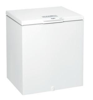Свободностоящ фризер с отваряне отгоре Whirlpool: бял цвят - WH2010 A+E