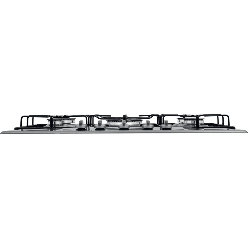 Hotpoint_Ariston Piano cottura PCN 752 T/IX/HAR Inox GAS Frontal