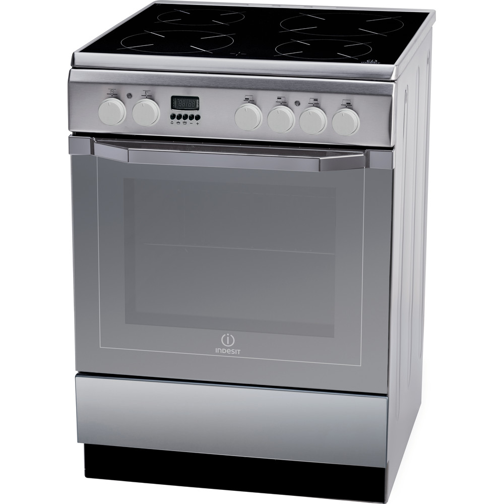 Indesit Cocina I6VMC6A(X)/GR Inox Electrical Perspective