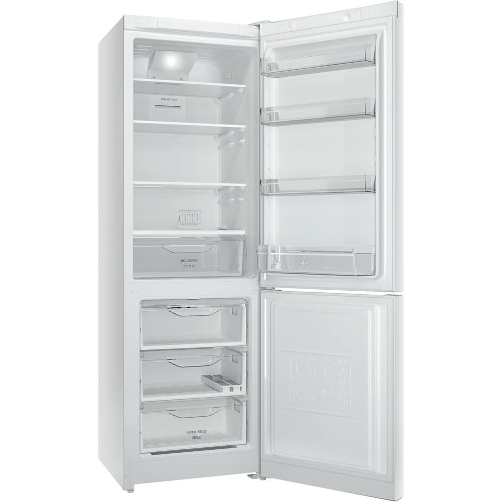 Indesit Холодильник с морозильной камерой Отдельностоящий DF 5180 W Белый 2 doors Perspective open