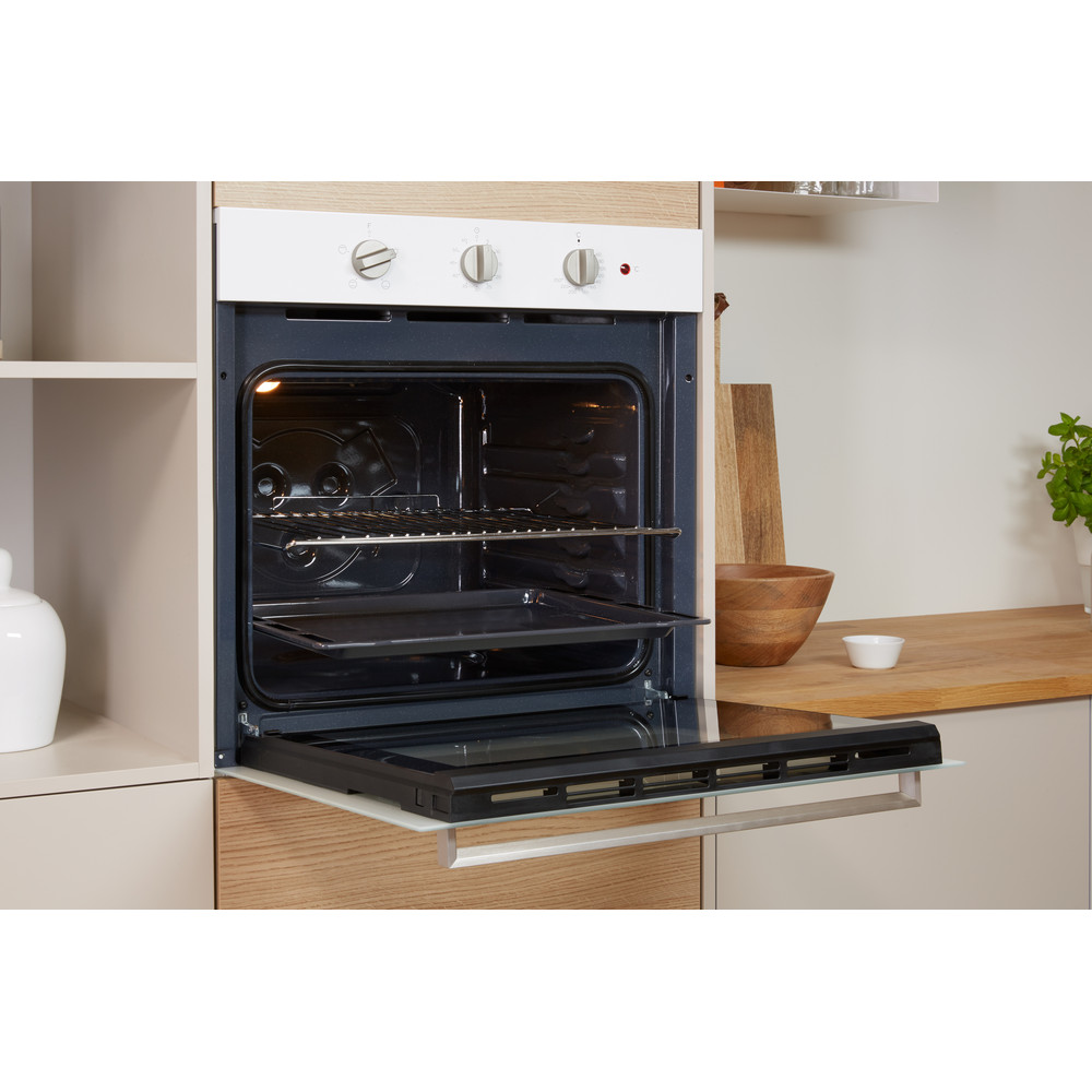 Indesit OVEN Built-in IFW 6230 WH UK Electric A Lifestyle perspective open