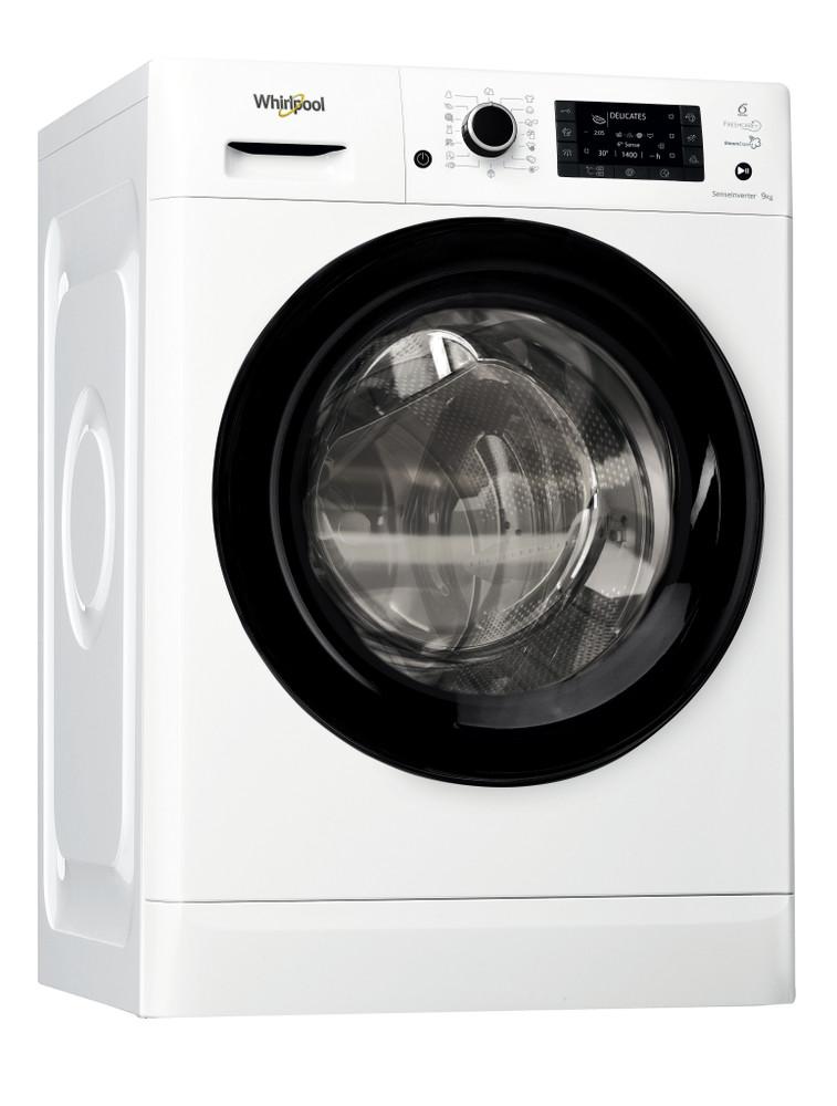 Whirlpool Washing machine Samostojeća FWD91496BV EE Bela Prednje punjenje A+++ Perspective