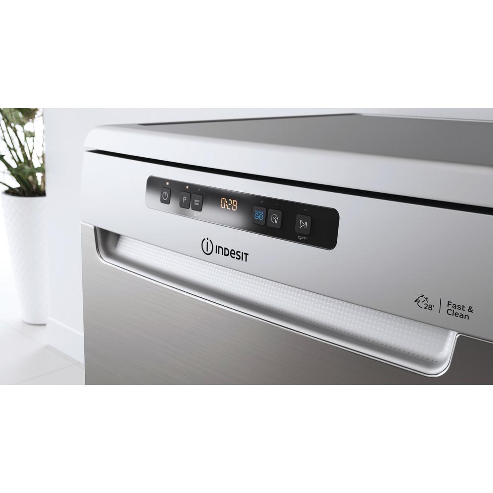 Indesit Máquina de lavar loiça Livre Instalação DFO 3C23 A X Livre Instalação E Lifestyle control panel