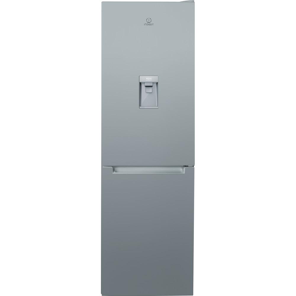 Indesit Fridge Freezer Free-standing LR8 S1 S AQ UK.1 Silver 2 doors Frontal