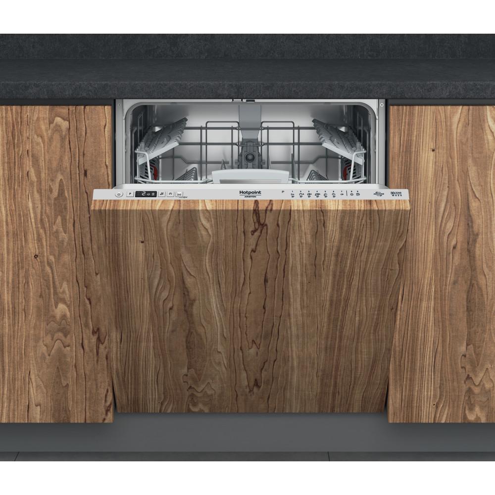 Hotpoint_Ariston Lave-vaisselle Encastrable HIO 3T141 W Encastrable C Frontal