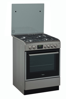Whirlpool electric free-standing cooker: 60cm - ACMT 6332/IX/1