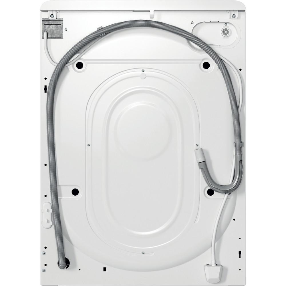 Indsit Maşină de spălat rufe Independent MTWSE 61252 WK EE Alb Încărcare frontală F Back / Lateral