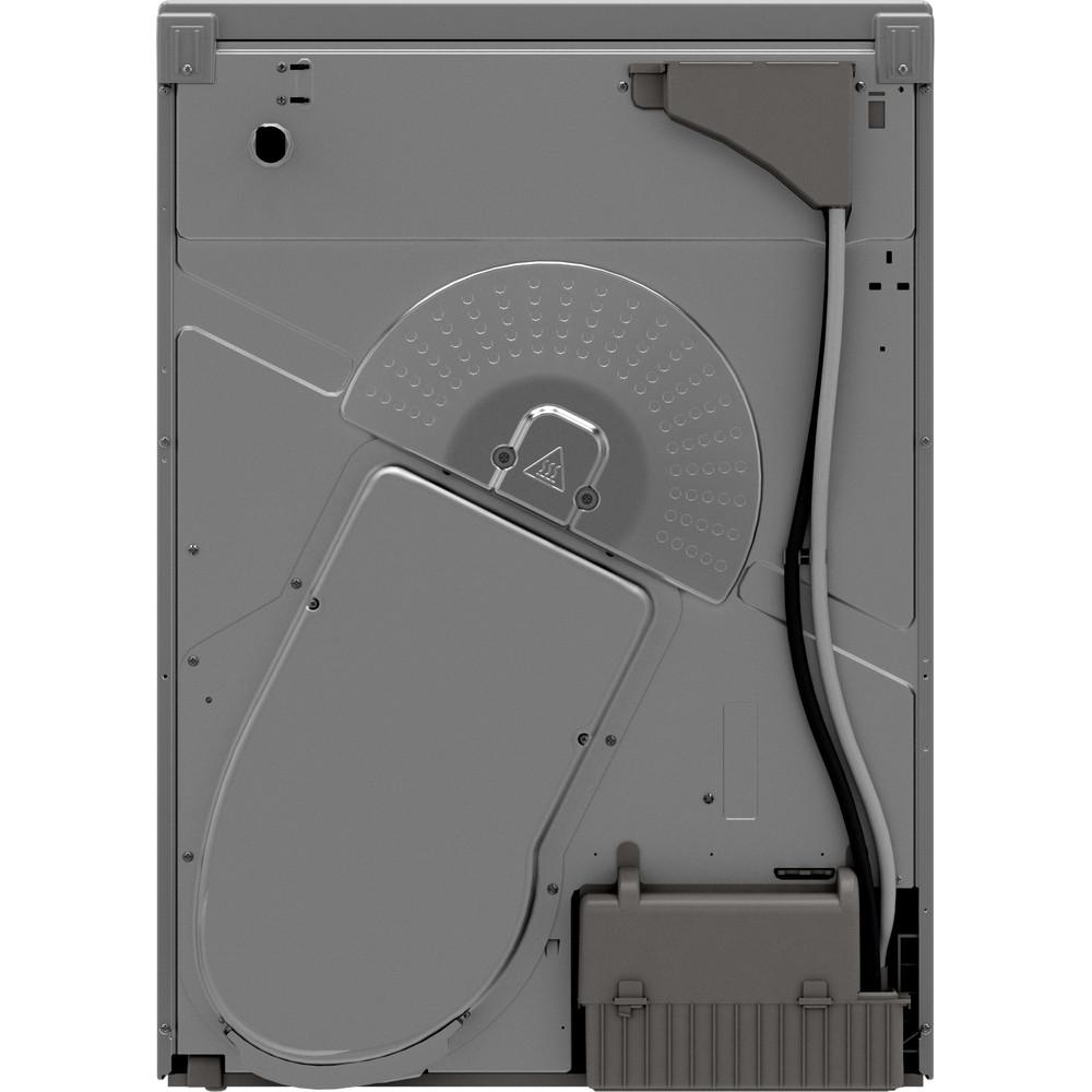 Indesit Dryer I2 D81S UK Silver Back / Lateral