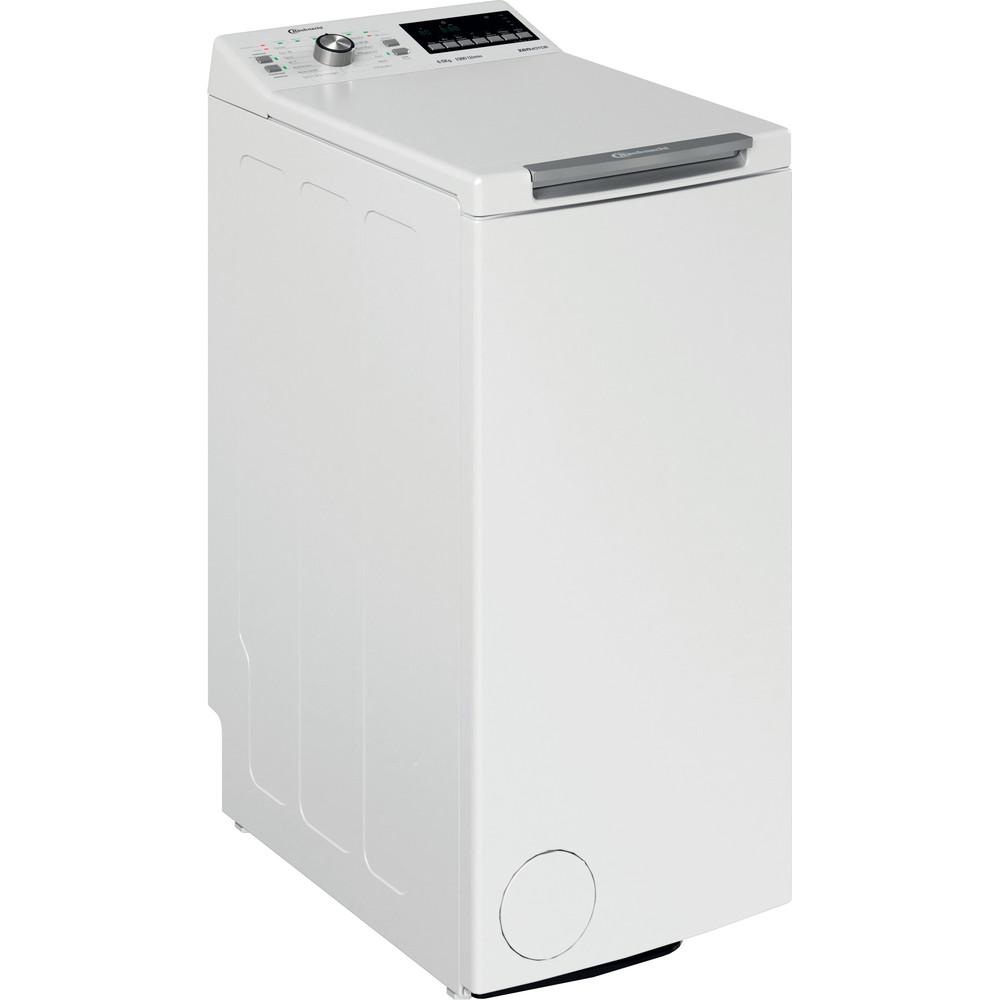 Bauknecht Waschmaschine Standgerät WAT 6513 DD N Weiss Toplader D Perspective