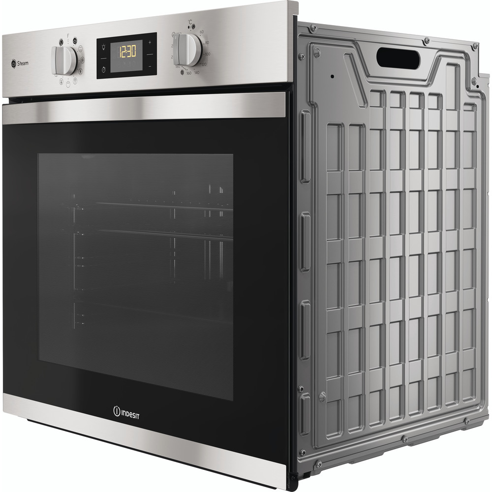 Indesit OVEN Built-in KFWS 3844 H IX UK Electric A+ Perspective