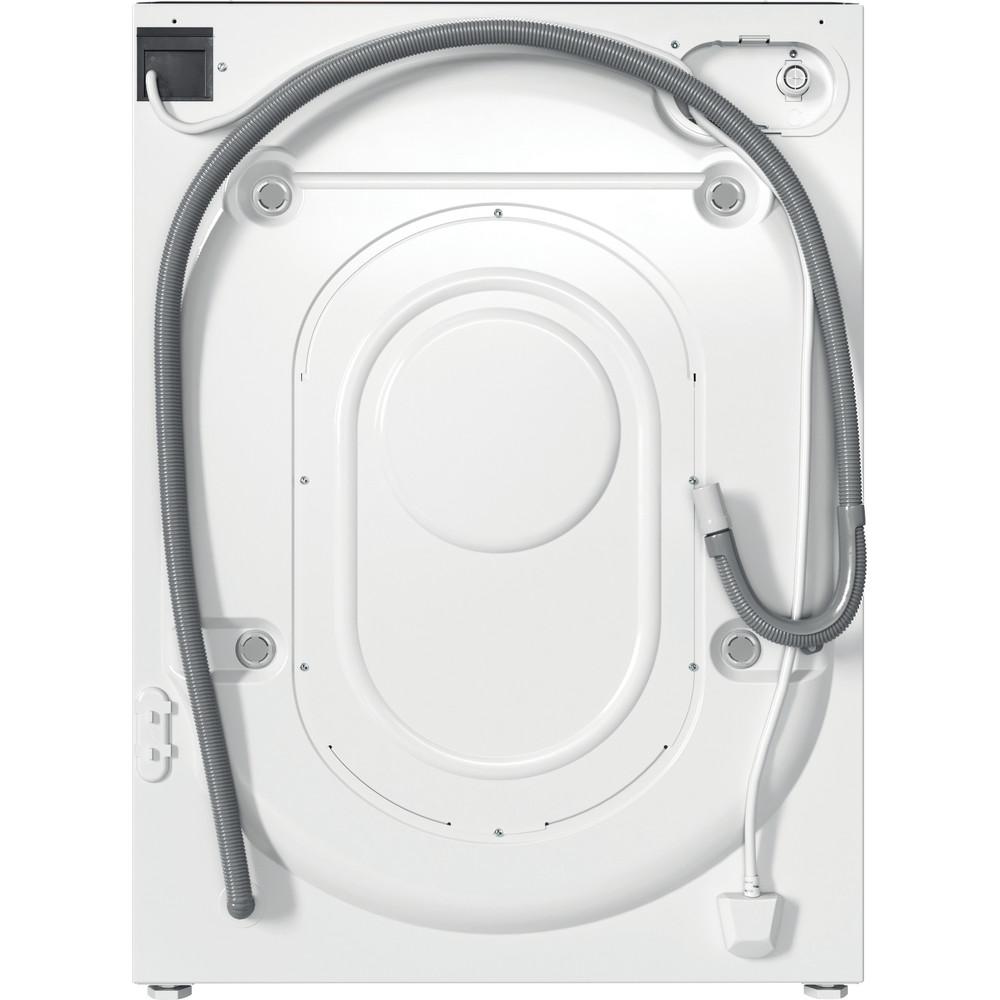 Indesit Lavadora secadora Encastre BI WDIL 751251 EU N Blanco Cargador frontal Back / Lateral