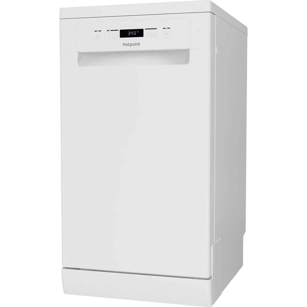 Hotpoint Dishwasher Free-standing HSFC 3M19 C UK N Free-standing F Perspective