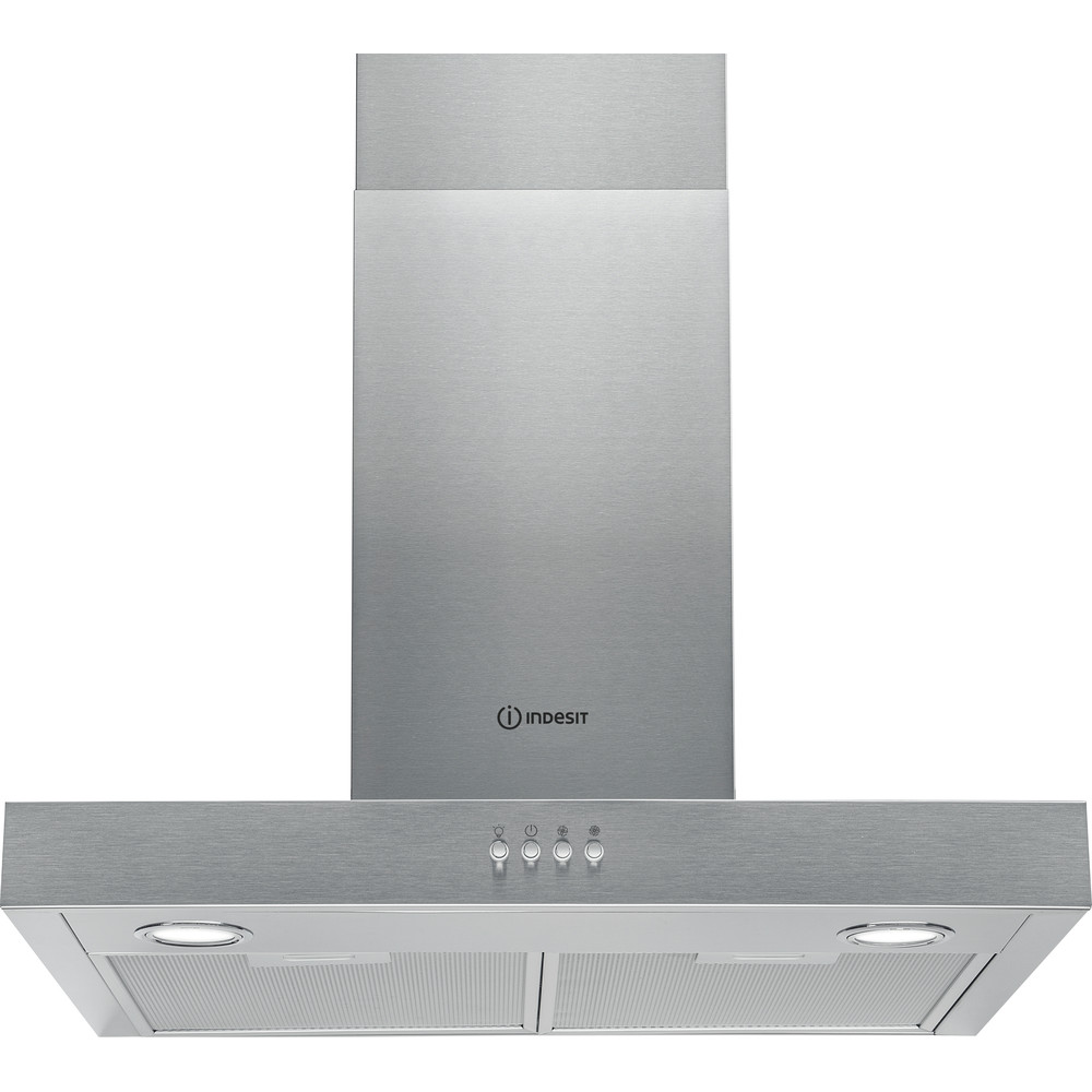 Indesit HOOD Built-in IHBS 6.5 LM X Inox Wall-mounted Mechanical Frontal