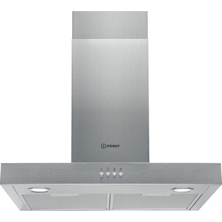 Indesit Campana Encastre IHBS 6.5 LM X Inox Wall-mounted Mecánico Frontal
