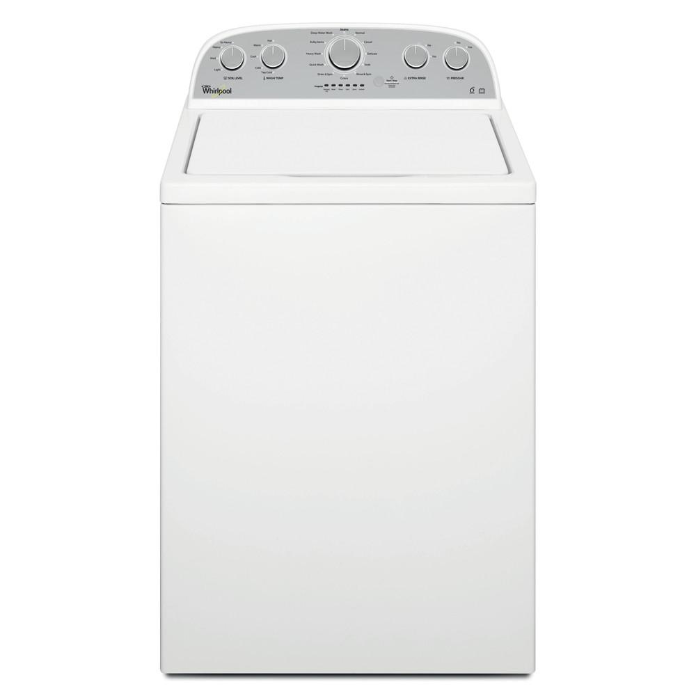 Whirlpool Washing machine Free-standing 4KWTW4845FW White Top loader F Frontal