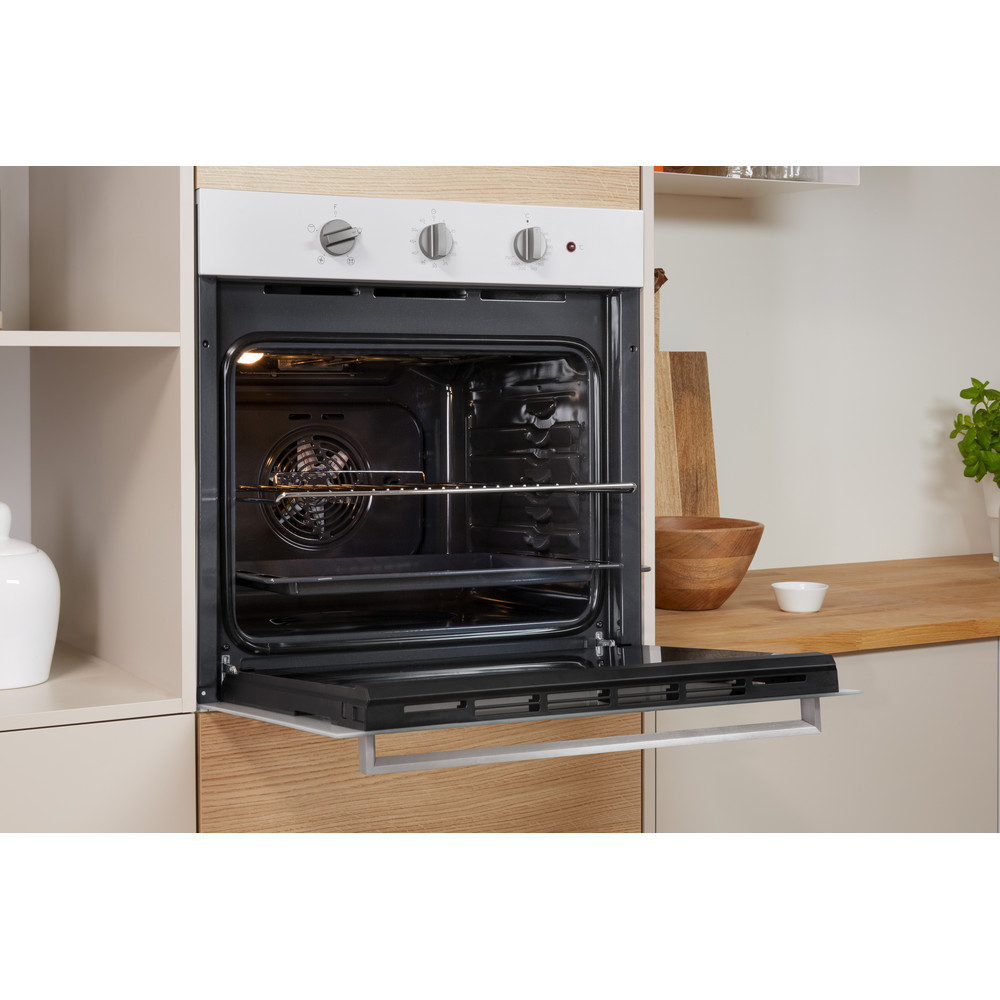 Indesit OVEN Built-in IFW 6330 WH UK Electric A Lifestyle perspective open