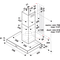 Whirlpool WHBS 64 F LM X Dampkap - Wand - 60cm