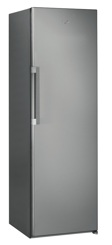 Whirlpool Refrigerator Free-standing SW8 1Q XR UK.2 Optic Inox Perspective
