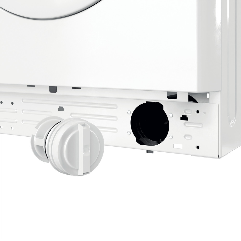 Indesit Lave-linge Pose-libre MTWC 71452 W EU Blanc Frontal E Filter