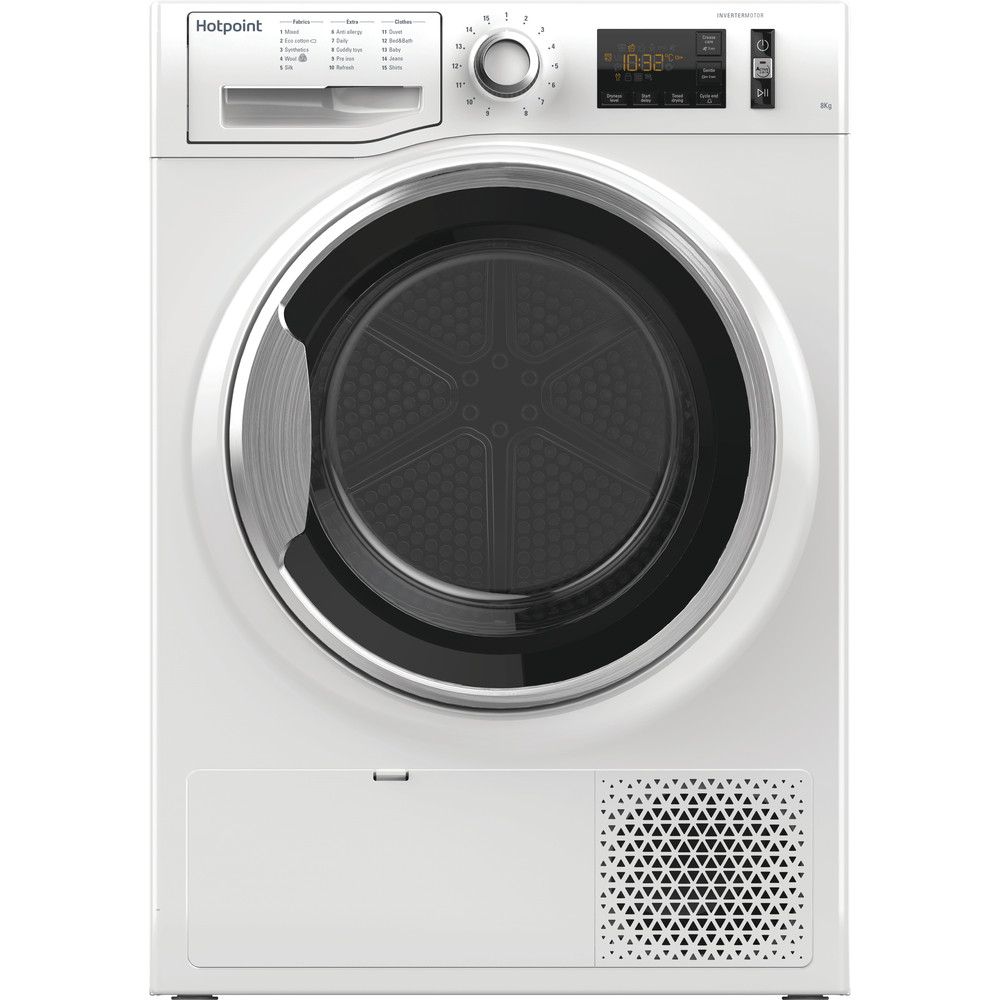Hotpoint Dryer NT M11 82XB UK White Frontal