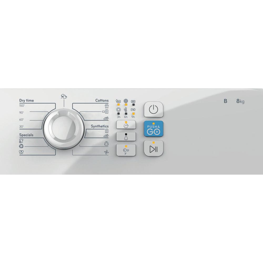 Indesit Secador YT CM08 8B EU Branco Control panel
