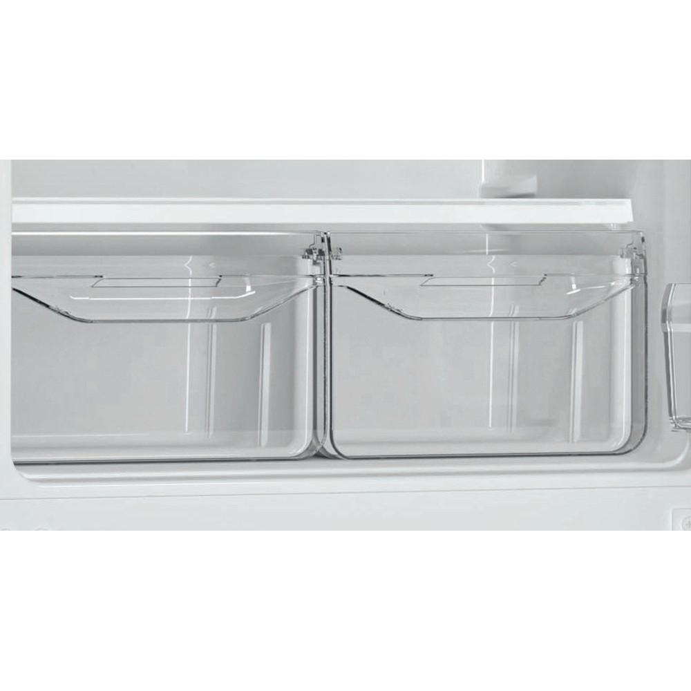 Indesit Холодильник с морозильной камерой Отдельностоящий DS 4160 E Розово-белый 2 doors Drawer