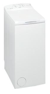 Päältä täytettävä vapaasti sijoitettava Whirlpool pyykinpesukone: 6 kg - PWTL1916