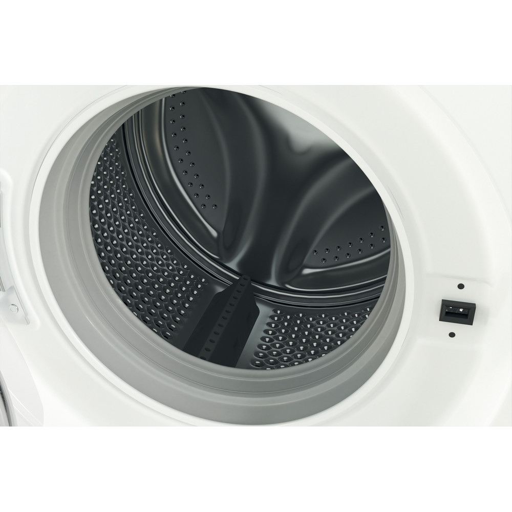 Indesit Lave-linge Pose-libre MTWE 81483 W BE Blanc Frontal D Drum