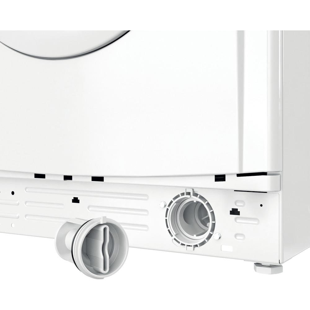 Indesit Wasmachine Vrijstaand EWC 51451 W EU N Wit Voorlader F Filter