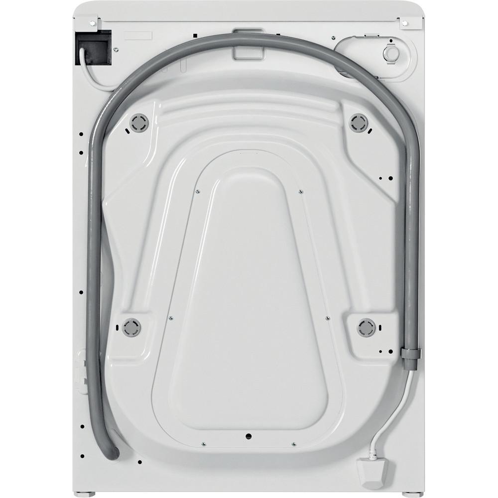 Indesit Lavabiancheria A libera installazione BWE 71283X W IT N Bianco Carica frontale D Back / Lateral