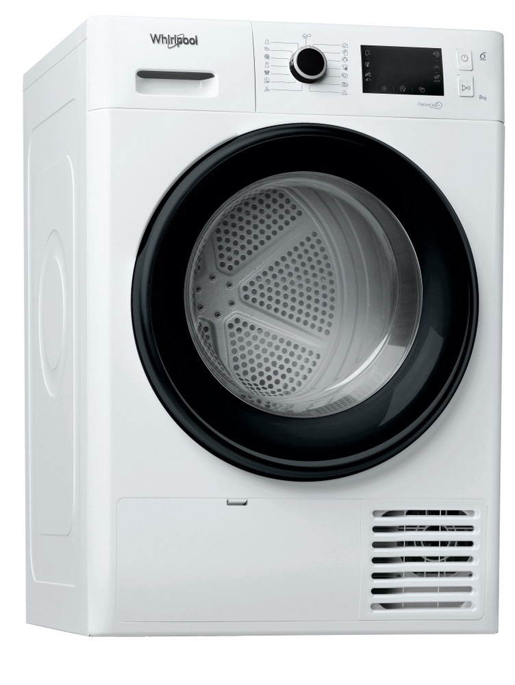 Whirlpool Dryr FT M22 8X3B EU Alb Perspective