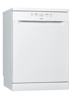 غسالة أطباق ويرلبول: لون أبيض, حجم كبير - WFE 2B19