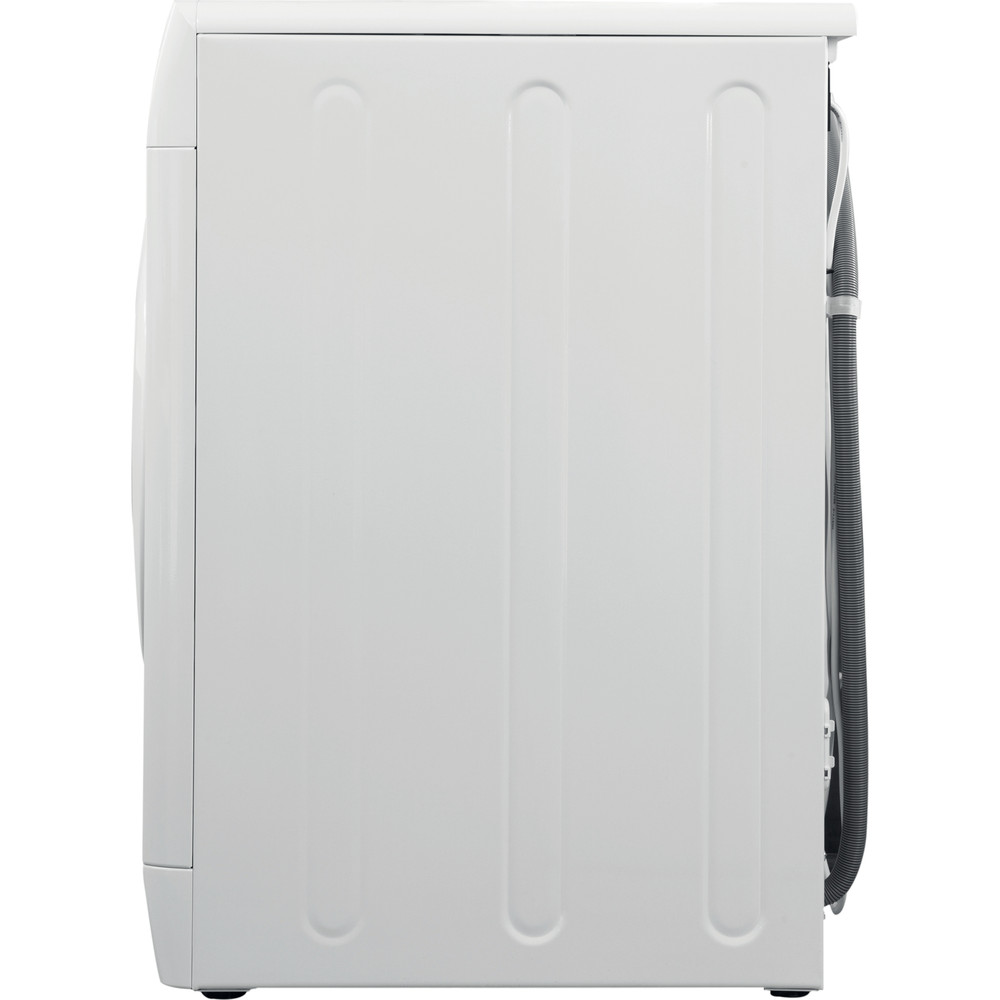 Indesit Washing machine Free-standing BWE 71452 W UK N White Front loader E Back / Lateral