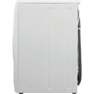 Indesit Стиральная машина Отдельностоящий BWE 81282 L Белый Фронтальная загрузка A Back / Lateral