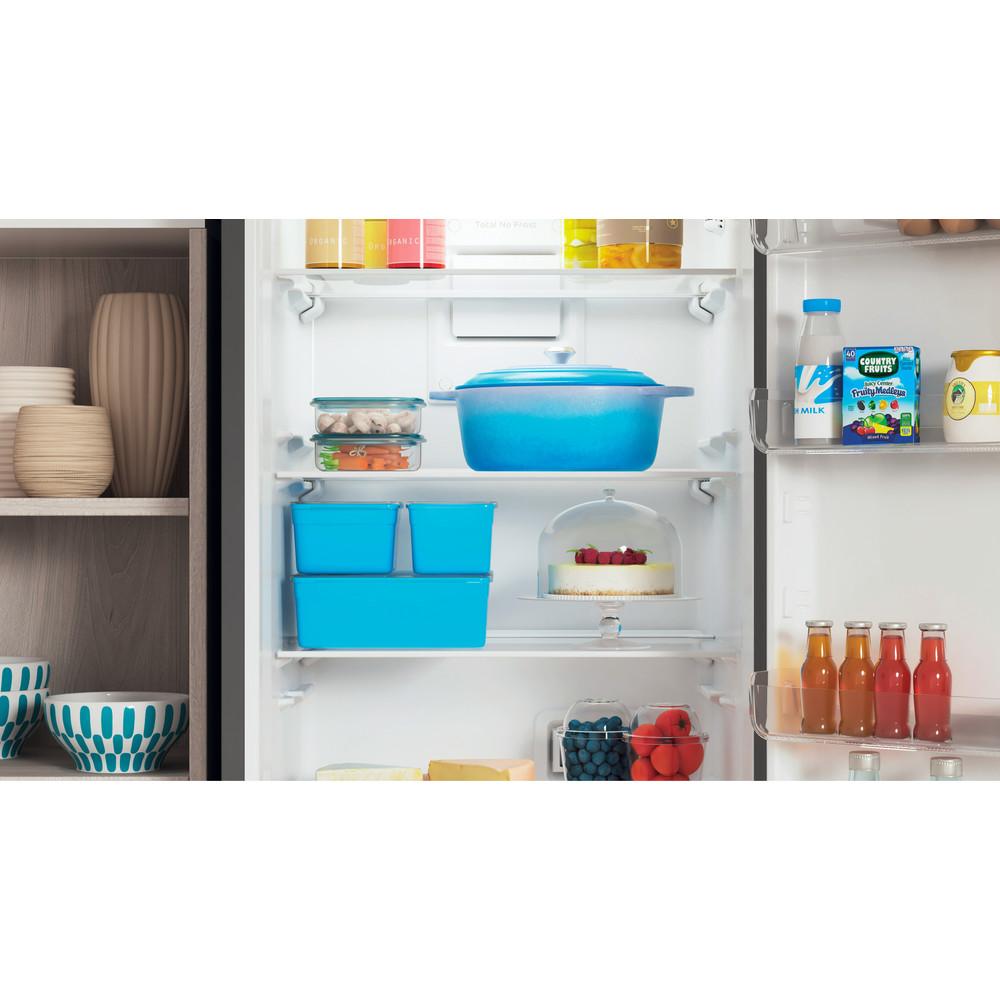 Indesit Холодильник с морозильной камерой Отдельностоящий ITD 4180 S Серебристый 2 doors Lifestyle detail