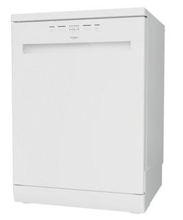 Whirlpool dishwasher: white color, full size - WFE 2B19 UK N
