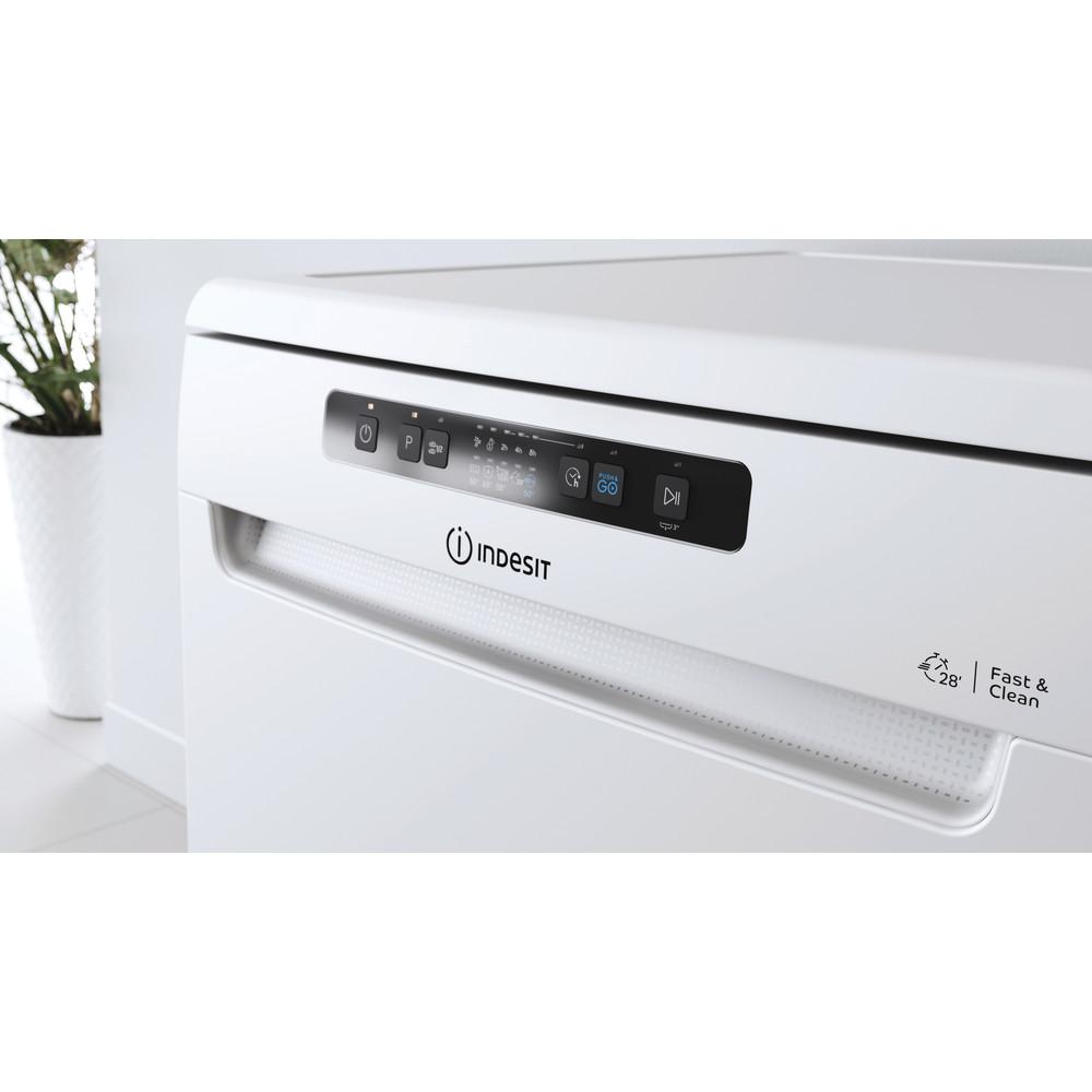 Indesit Lave-vaisselle Pose-libre DFC 2C24 A Pose-libre E Lifestyle control panel