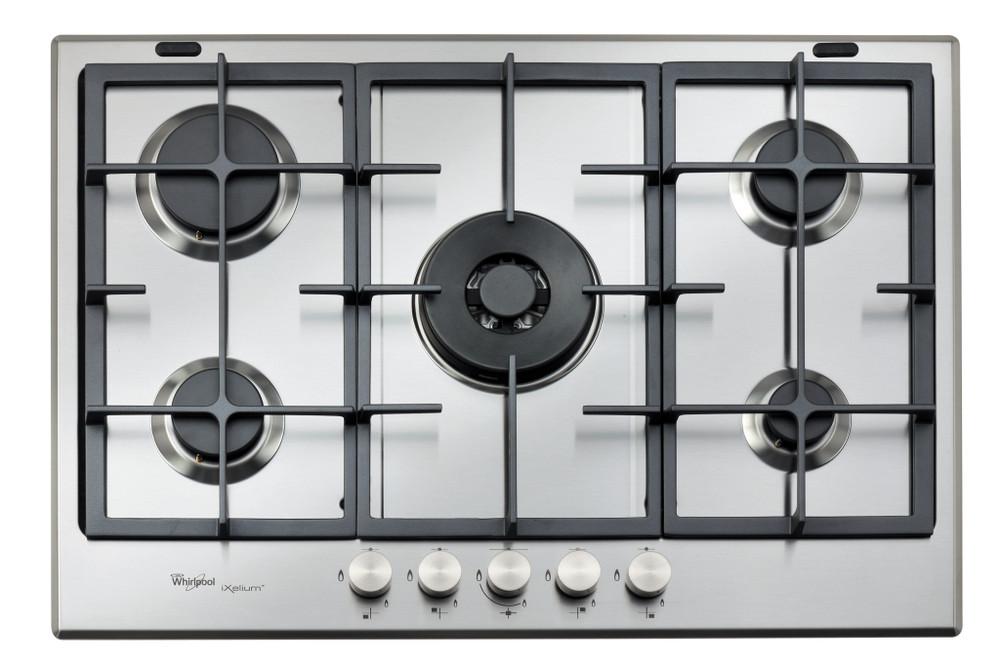 Whirlpool Table de cuisson GMA 7522/IXL Inox Gaz Frontal