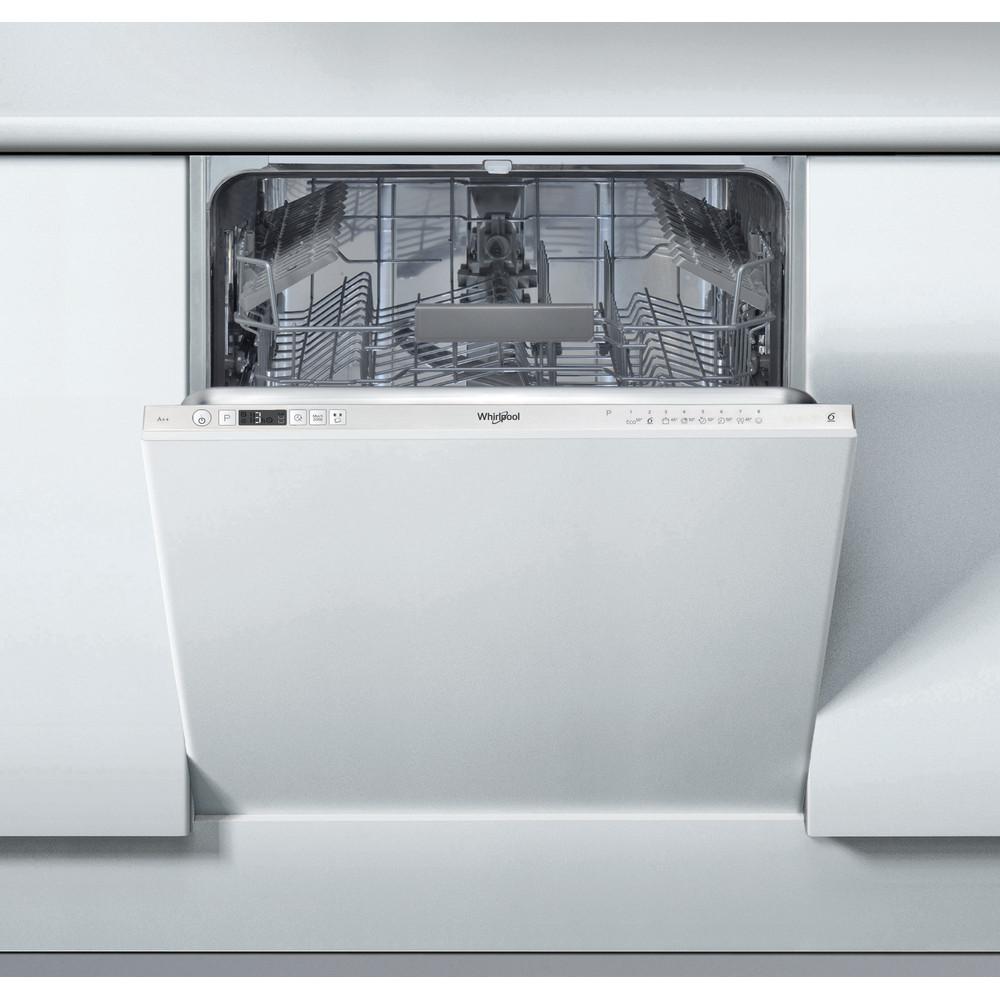 Whirlpool integrert oppvaskmaskin: farge sølv, 60 cm - WIC 3C22 E SK