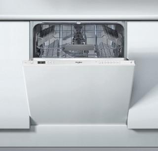 Integreret Whirlpool-opvaskemaskine: sølvfarve, fuld størrelse - WIC 3C22 E SK