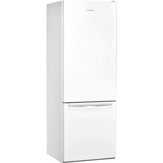 Indesit Külmik-sügavkülmik Eraldiseisev LI6 S1E W Üleni valge 2 doors Perspective